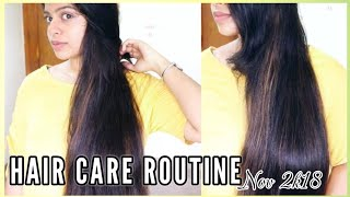 CURRENT HAIRCARE & OILING ROUTINE + FAVORITE HAIRCARE PRODUCTS   NOVEMBER 2K18   bl&f