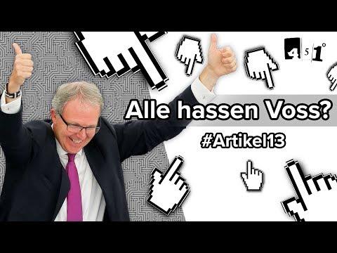 Axel Voss - Der meistgehasste Mann des Internets?   451 Grad