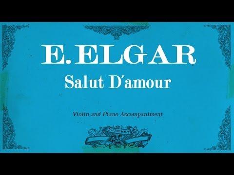 E.Elgar - Salut D´Amour - Piano Accompaniment