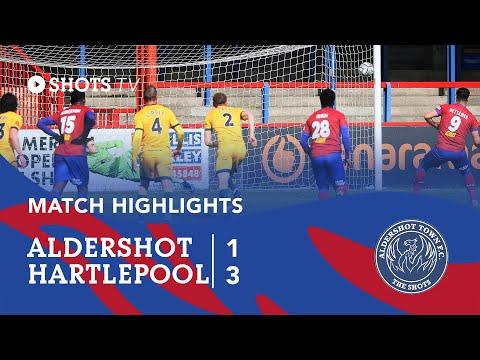 Aldershot Hartlepool Goals And Highlights