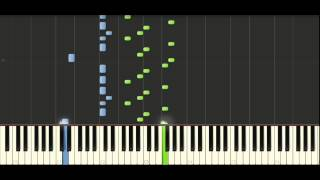 Bach - English Suite No. 2 in A minor (BWV 807) No. 1 Prelude - Piano Tutorial - Synthesia
