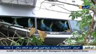 حوادث المرور : وفاة 3 أشخاص و إصابة 9 آخرين نتيجة سوء الأحوال الجوية