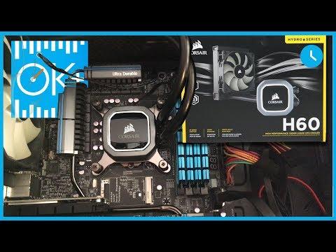 Refrigeración Liquida PC - Porque comprar el Corsair H60 2018 Led