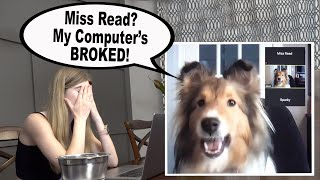 Online Kindergarten Class?  Remote Learning with Biscuit the talking Dog (your Nightmare Student)!