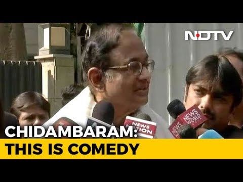 P Chidambaram's Chennai Home Raided By Enforcement Directorate Officials