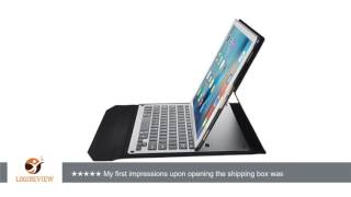 ivso apple ipad pro 12 9 case with keyboard ultra thin high quality aluminum bluetooth keyboard