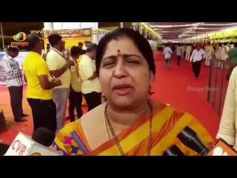 Actress and TDP Leader Kavitha Moved From Mahanadu For Being Insulted | Vizag | Mango News