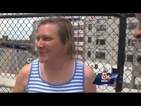 Navy's Blue Angels Soar Above Boston