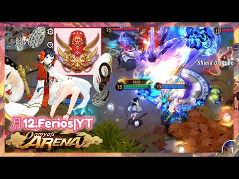 Onmyoji Arena - Menreiki | The Day I Met Rank 1 In Game | Season 8