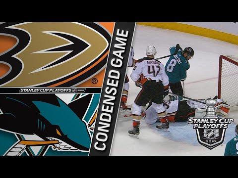 04/16/18 First Round, Gm3: Ducks @ Sharks
