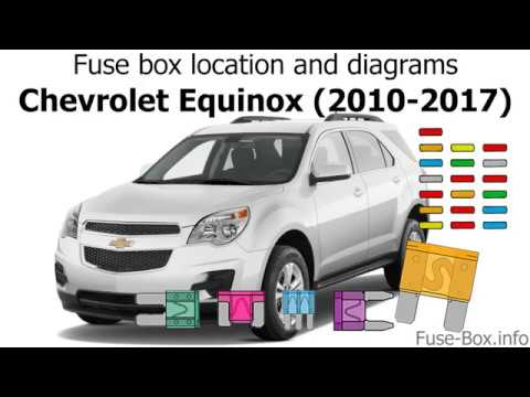 fuse box location and diagrams: chevrolet equinox (2010-2017)