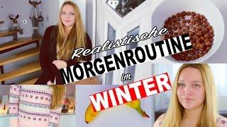 REALISTISCHE MORGENROUTINE im WINTER | Meine Morgen Routine | Deutsch AnnaXO