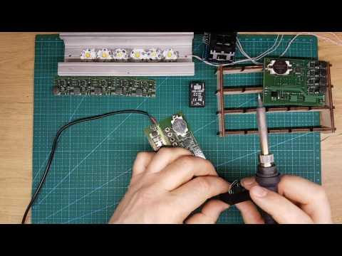 Подключение драйверов серии LDD Mean Well и AQUAPLANNER к контроллеру MINI+