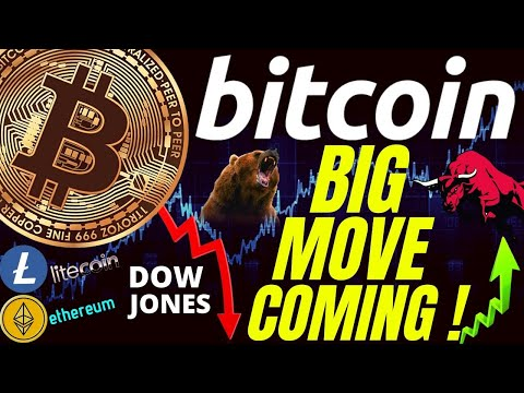 BIG MOVE COMING FOR BITCOIN LITECOIN ETHEREUM and TRADITIONAL MARKETS! prediction, analysis, trading