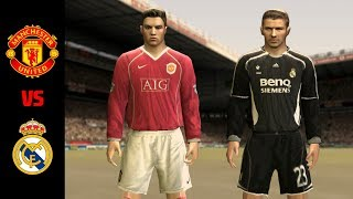 FIFA 07 / Manchester United vs Real Madrid / PC Gameplay HD