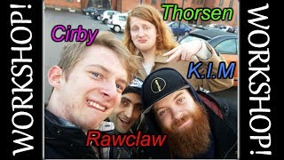 Beatbox WORKSHOP with K.I.M., Rawclaw, Thorsen | Vlog