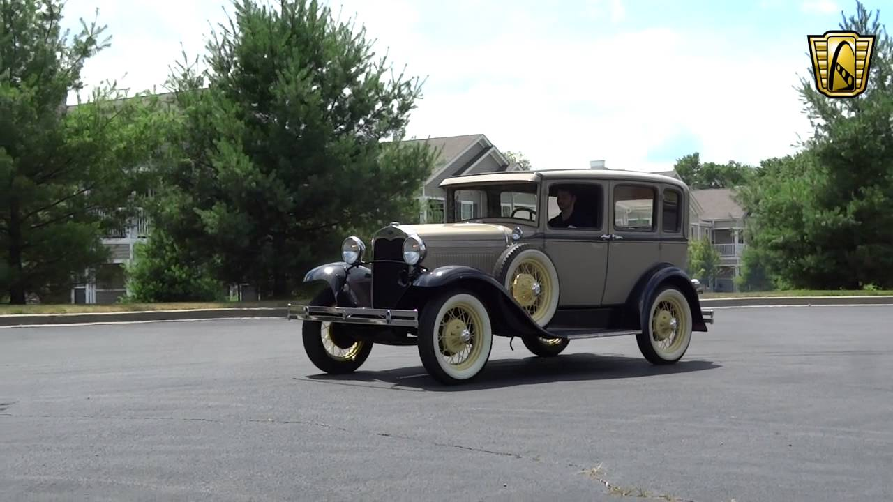1930 Model A - Gateway Classic Cars St. Louis - #6863 - YouTube