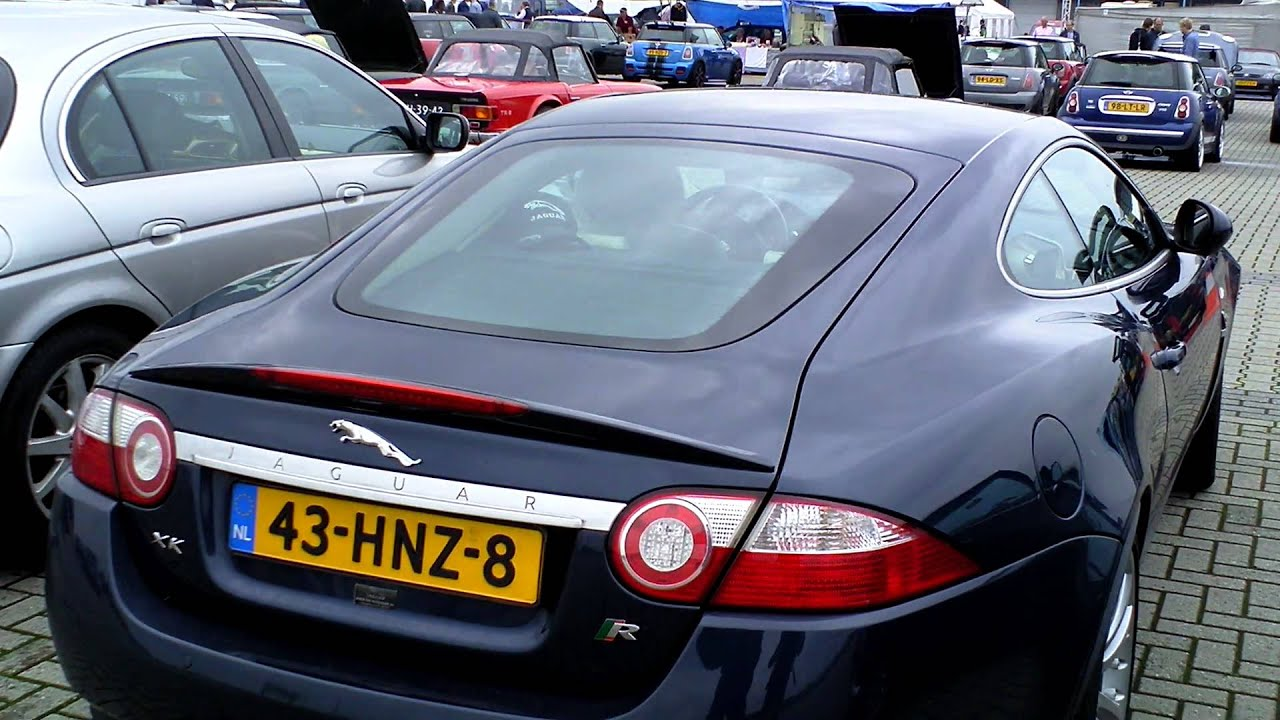 Jaguar XKR [2007] Walkaround and Details [HD 1080p] - YouTube