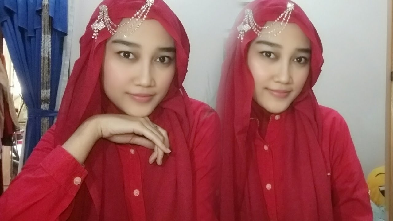 Tutorial Hijab Segiempat Super Simple YouTube