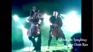 Apocalyptica - Hall Of The Mountain King (Live @Costa Rica, January 2012)