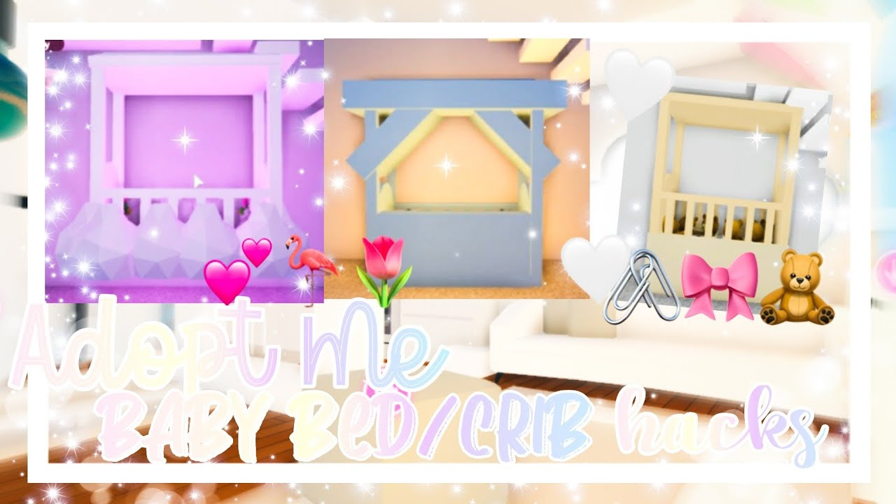 🧸Adopt Me Baby Crib Ideas🧸🤍 ▪︎adopt Me Baby Room Build Hacks▪︎ || Official Pineapples - YouTube