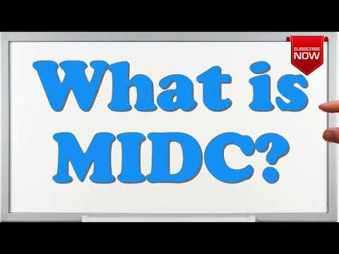 What is the full form of MIDC?