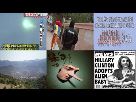 NOTICIAS : OVNI atraviesa el cielo japonés, falsa campaña publicitaria y la mentira en la sociedad
