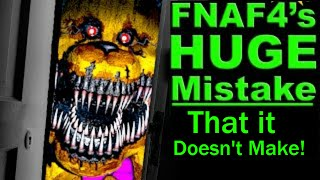 Game Theory: FNAF 4 got it ALL WRONG? (Debunking MatPat's Five Nights at Freddy's 4 Theory)