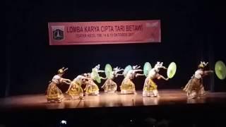 Kembang Dare - Lomba Karya Cipta Tari Betawi 2017