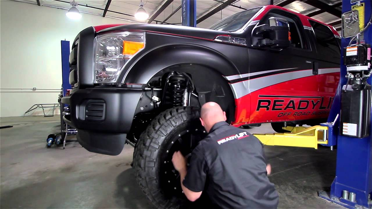 ReadyLIFT Ford Super Duty 5 Inch Off Road Suspension Lift ...
