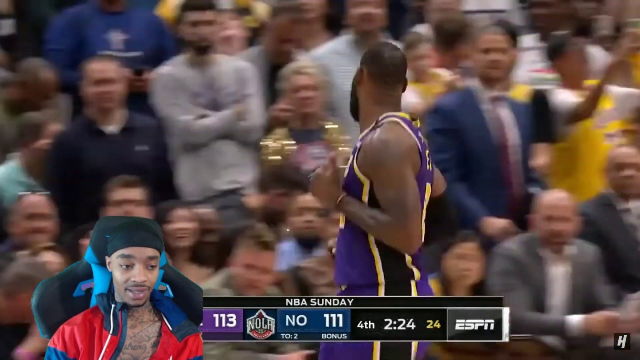 LeBron vs Zion RIVALRY! FlightReacts Lakers vs Pelicans - Full Game Highlights   March 1, 2020