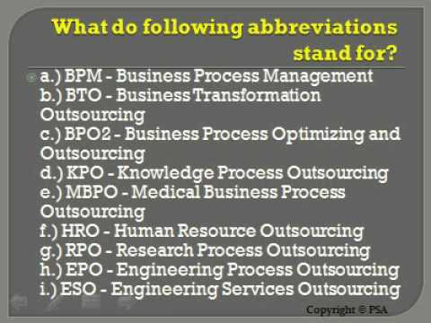 BPO Interview Questions And Answers