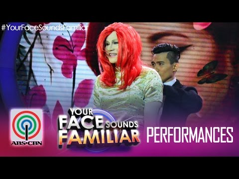 "Your Face Sounds Familiar: Tutti Caringal as Yeng Constantino - ""Chinito"""