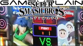 Super Smash Bros. Ultimate - Ice Climbers VS Ike on Boxing Ring (SDCC 2018)