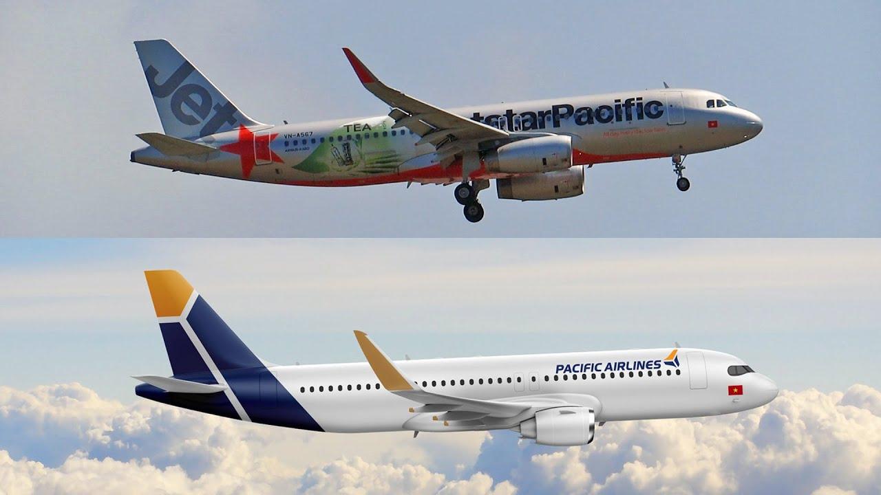 Hãng Pacific Airlines (Jetstar Pacific) đã sơn lại máy bay chưa?
