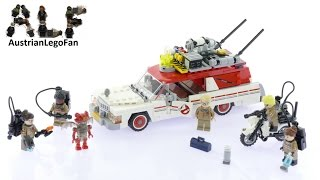 Lego Ghostbusters 75828 Ecto-1 & 2 - Lego Speed Build Review