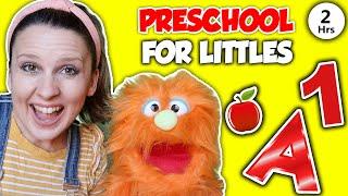 Preschool Learning Videos - Pres¢hool for Littles - Online Virtual Preschool Video - Learn at Home