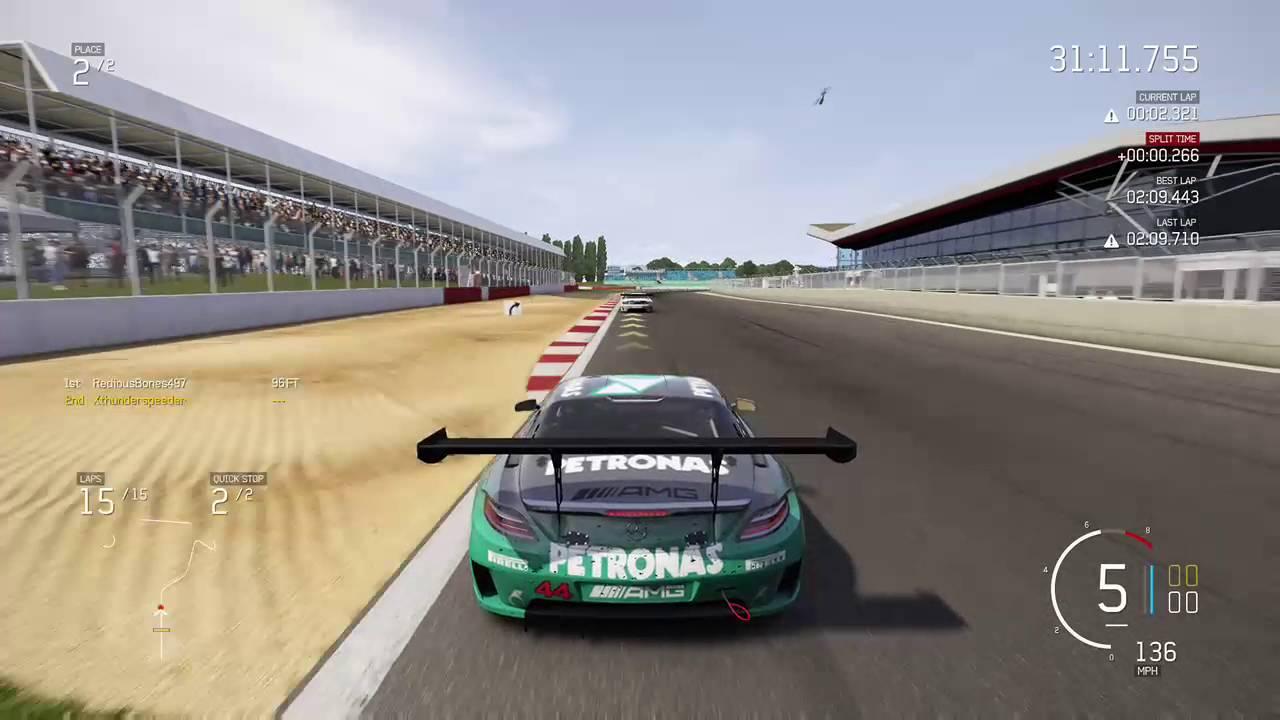 Forza Motorsport 6 - Silverstone Full Circuit - Epic Race 1 - YouTube