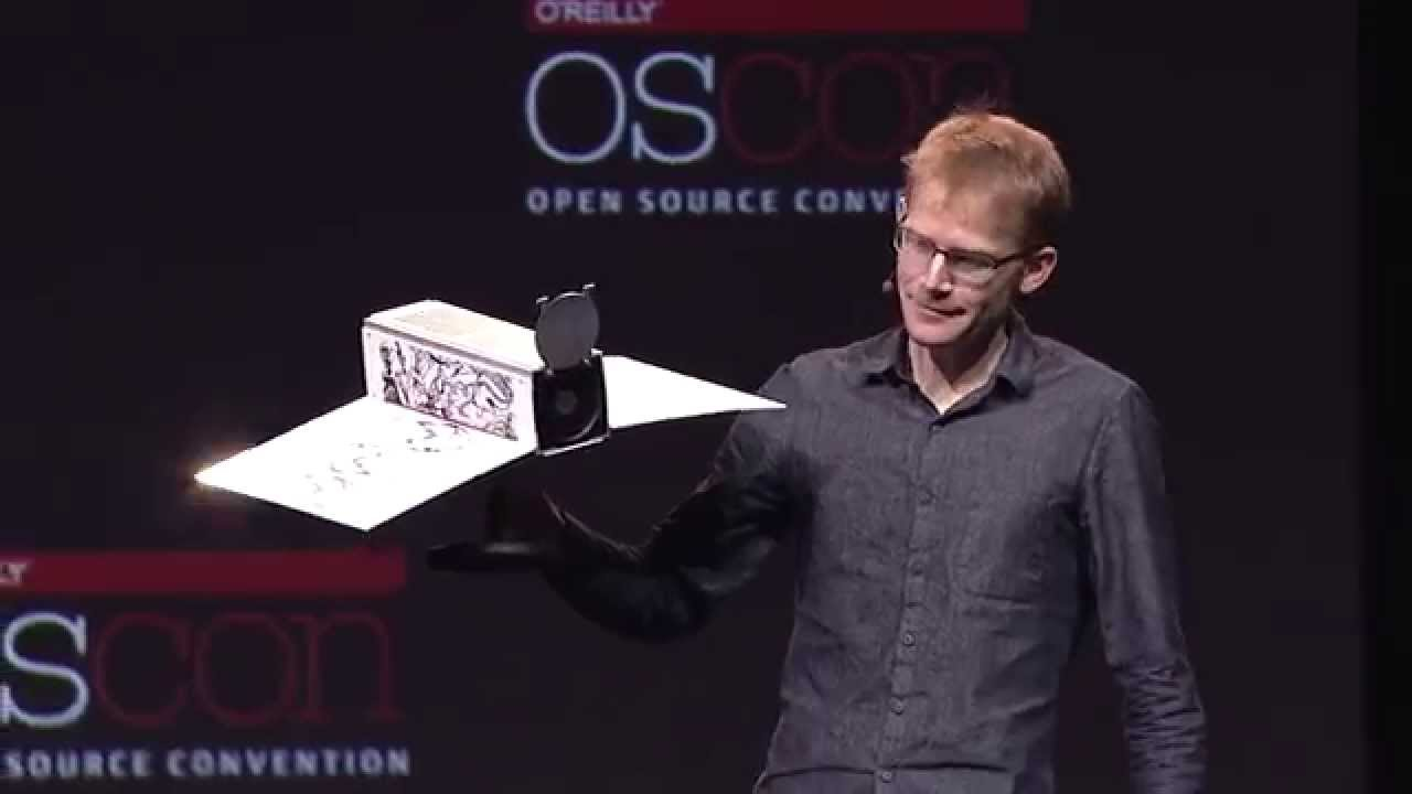 Will Marshall OSCON 2014 Keynote: Building an API for the Planet