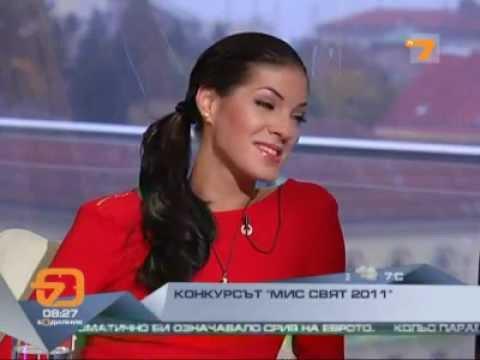 MISS BULGARIA Interview post Miss World 2011