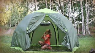 Установка палатки Lotos 5 Summer (ЛОТОС 5 Саммер)(Видео-инструкция по установке кемпинговой палатки