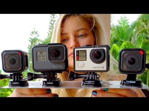 Which one is better? GoPro Comparison! | iJustine