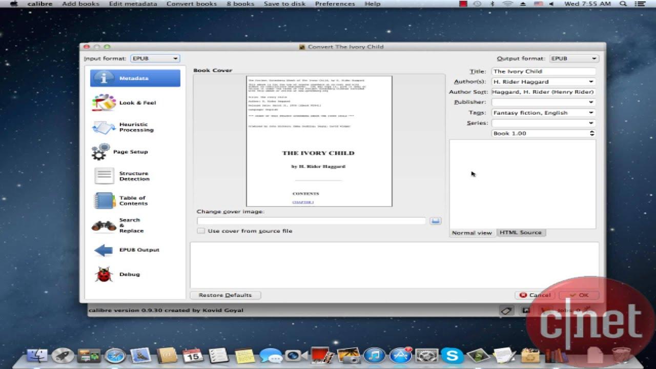 Download calibre for mac.