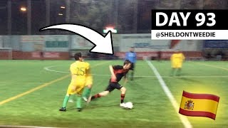 MY FIRST MATCH IN SPAIN *GAME FOOTAGE*