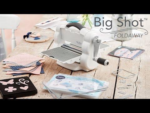 Introducing the NEW Big Shot™ Foldaway Machine