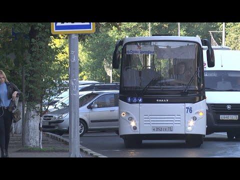 Новые автобусы выходят на маршруты Ульяновска