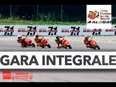 Trofeo Nazionale Scooter Velocità Modena - Gara completa - Trofei Malossi 2016