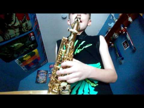 How to play the Rocky Theme on Alto Saxaphone