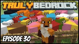 AFK Sheeping And Beacon Farming - Truly Bedrock (Minecraft Survival Let's Play) Episode 30