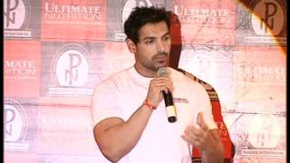 Bollywood World - John Abraham Gives Some Body Building Tips - Health and Fitness Videos